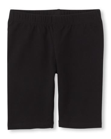 Girls Knit Bike Shorts