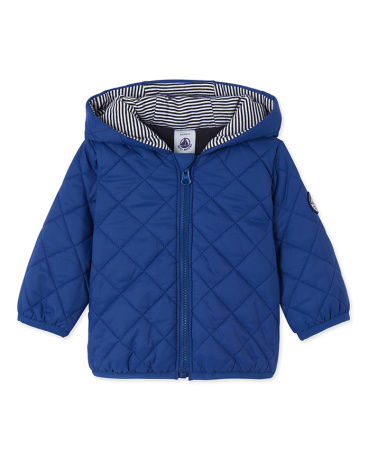 Baby boy's quilted jacket