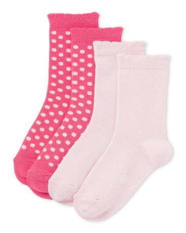 Set of girls' socks