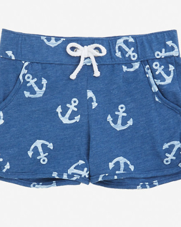 Girls' Anchor Pull-On Short (8-16)