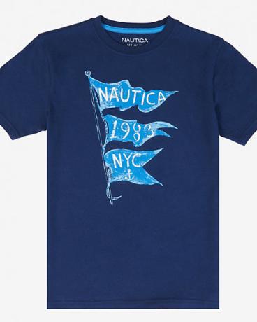 Boys' Nautica NYC 1983 Flags Tee (8-16)
