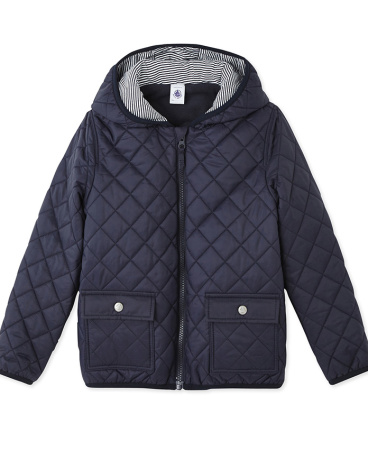 Boys' quilted jacket