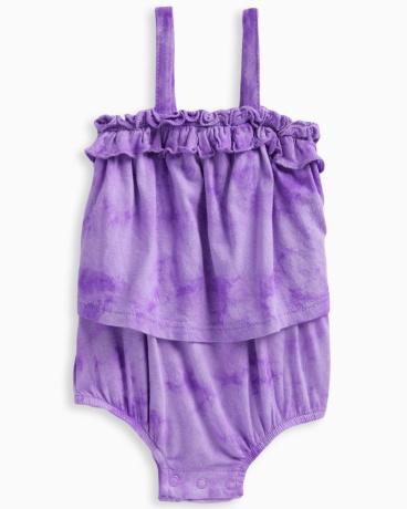 Baby Girl Tie Dye Romper