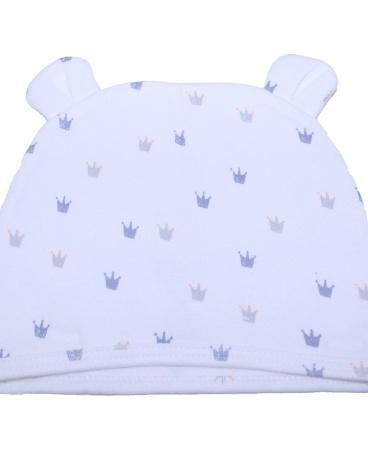 Crown Print Jersey Hat