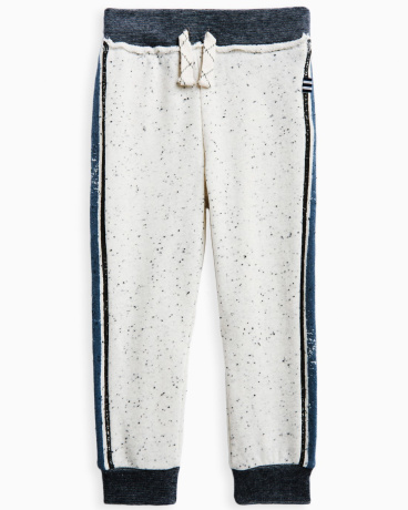 Little Boy Speckle Brushed French Terry Jogger