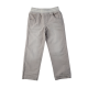 Distressed Grey Brushed Cotton Twill Pant