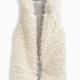 Girl Reversible Hooded Fur Vest
