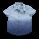Ombre Short Sleeve Button Down Shirt