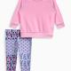 Baby Girl Whipstitch Pullover Legging