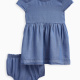 Baby Girl Tencel Denim Dress