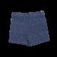 Navy Cuffed Cotton Short