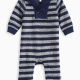 Baby Boy Stripe Coverall