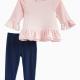 Baby Girl Loose Knit/Rayon Set