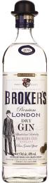 Broker's London Dry Gin 70cl