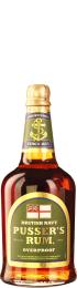 Pusser's Green Label Navy Rum Overproof 70cl