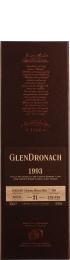 Glendronach 21 years 1993 Oloroso Sherry Butt 70cl