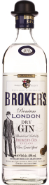 Broker's London Dry Gin 70cl