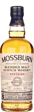 Mossburn Speyside Blended Malt 70cl