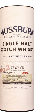 Mossburn No.2 Inchgower 10 years Single Malt 70cl