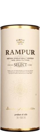 Rampur Vintage Select Casks Indian Single Malt 70cl