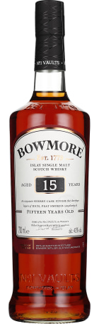 Bowmore 15 years Single Malt 70cl