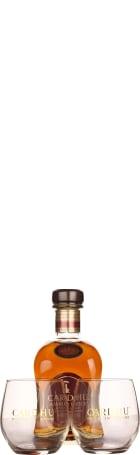 Cardhu Amber Rock Giftset 70cl