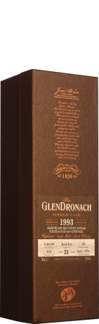 GlenDronach 25 years 1993-2018 Beija-Flor & Silver Seal 70cl