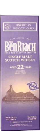 Benriach 22 years Moscatel Cask Finish 70cl