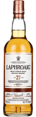 Laphroaig 27 years Single Malt 70cl