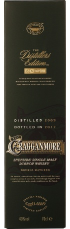 Cragganmore Distillers Edition 2005-2017 70cl