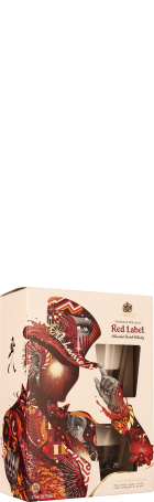 Johnnie Walker Red Label Giftset 70cl