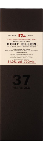 Port Ellen 37 years Special Release 2017 70cl