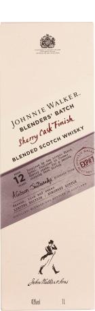 Johnnie Walker Sherry Cask Finish Blenders Batch 1ltr