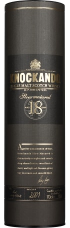 Knockando 18 years 1998 Slow Matured 70cl