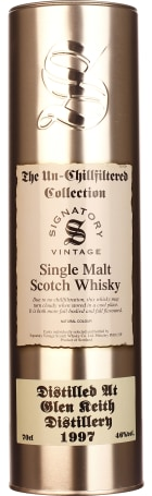 Signatory Glen Keith 20 years 1997 Un-Chillfiltered 70cl