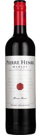 Pierre Henri Merlot 75cl