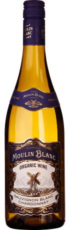 Moulin Blanc Sauvignon Blanc-Chardonnay Organic 75cl