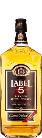 Label 5 Scotch Whisky 1ltr