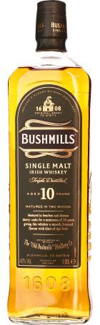 Bushmills 10 years Single Malt 1ltr
