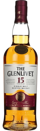 The Glenlivet 15 years French Oak 70cl