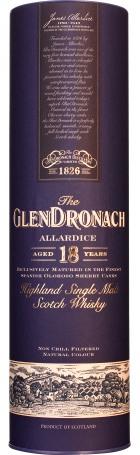 Glendronach 18 years Allardice Bottled 2017 70cl