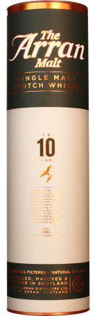 Arran 10 years Single Malt non filtered 70cl