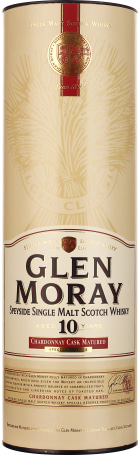 Glen Moray 10 years Chardonnay 70cl