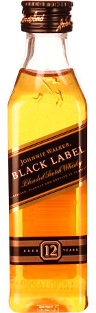 Johnnie Walker Black Label miniaturen 12x5cl