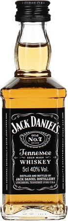 Jack Daniels miniaturen 10x5cl