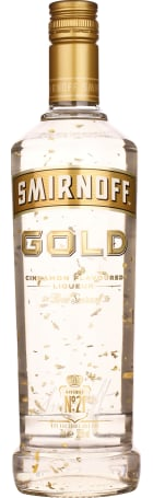 Smirnoff Vodka Gold - Cinnamon 70cl