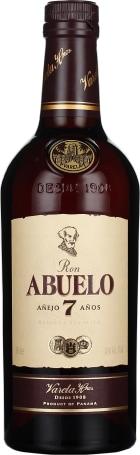 Abuelo 7 anos Anejo Rum 70cl