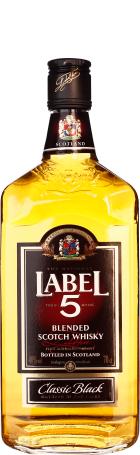 Label 5 Scotch Whisky 70cl