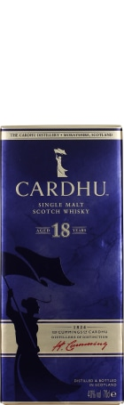 Cardhu 18 years Single Malt 70cl
