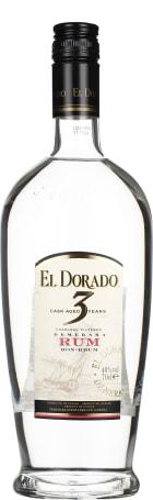 El Dorado 3 years Cask Aged White Rum 70cl